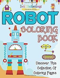 Amazon.com: Robots Coloring Book (Dover Coloring Books ...