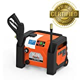YardForce 1600 PSI All-in-1 Electric Pressure Washer with BONUS Turbo Nozzle