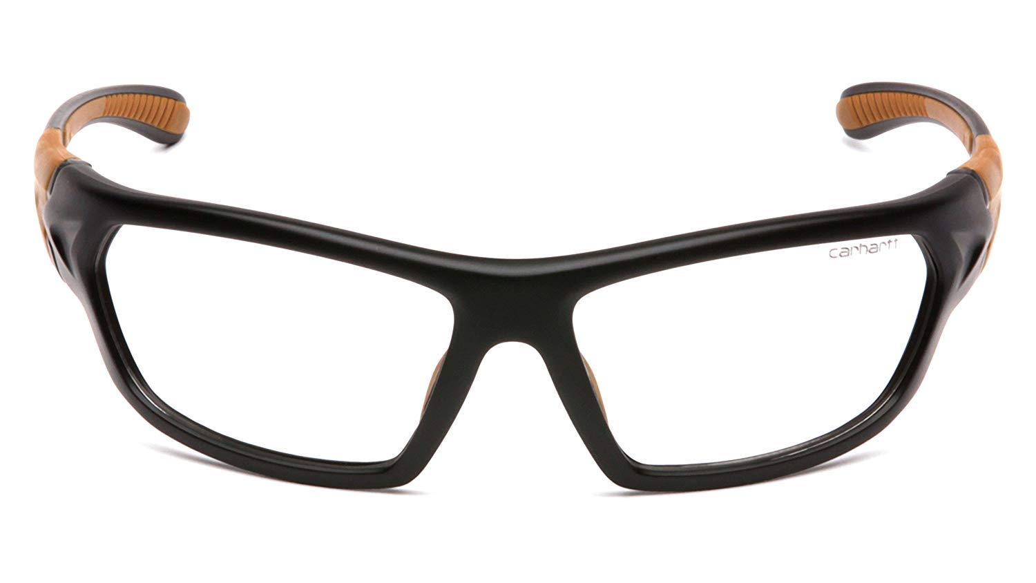 Carhartt Carbondale Safety Glasses with Clear Anti-Fog Lens (2 Pack) by Carhartt (Image #2)