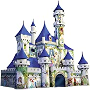 Ravensburger Disney Castle 216 Piece 3D Jigsaw Puzzle for Kids and Adults - Easy Click Technology Means Pieces