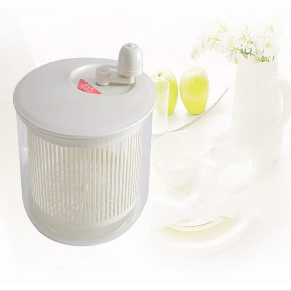 Vegetables shake dry bucket, drain water basket washer salad bucket kitchen washing vegetables go to bucket by yueguan
