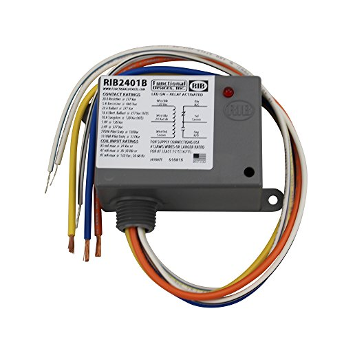 Functional Devices Rib2401b Enclosed Relay 20 Spdt With 24 Vac. Functional Devices Rib2401b Enclosed Relay 20 Spdt With 24 Vacdc120 Vac Coil 2pack Amazon. Wiring. Rib 2401b Wiring Diagram At Scoala.co