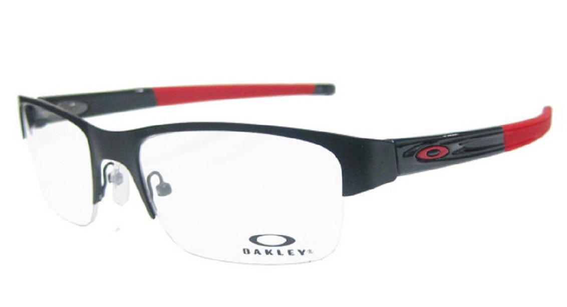 OAKLEY オークリー メガネ フレーム CROSSLINK 0.5 クロスリンク0.5 OX3226-0153 サテンブラック/レッド 3226-0153   B073WSWCWD