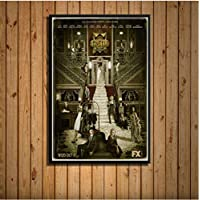 American Horror Story Classic Tv Series New Season Hot Art Painting Silk Canvas Poster Wall Home Decor 40 * 60Cm No…
