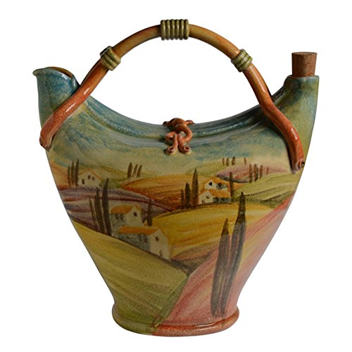 Italian Dinnerware - Roman Pitcher - Handmade in Italy from our Sogno Toscano Collection