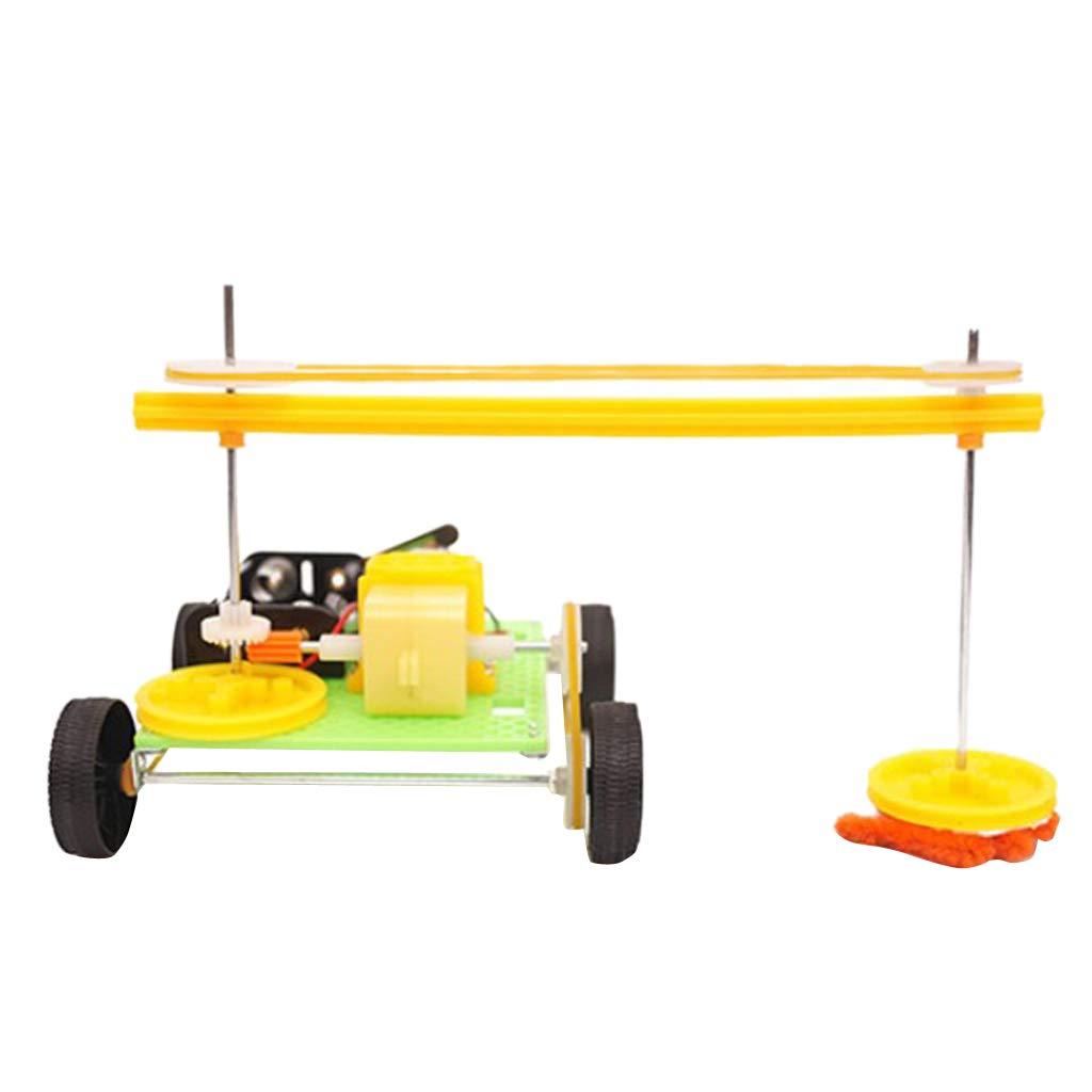 perfeclan Robot Pulizia Montaggio Assembling Cleaning Robot Scienza Esperimento Giocattolo Regalo Babini