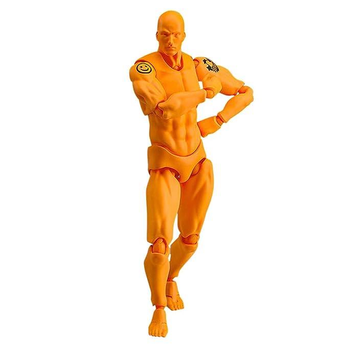 Skizzieren B Jamicy/® Human Mannequin 2.0 Body Kun Puppe Body-Chan Mann//Frau Action Figure DX Set mit Zubeh/örset Action Figuren Modell,Malerei Requisiten ideal zum Zeichnen Malen Frau