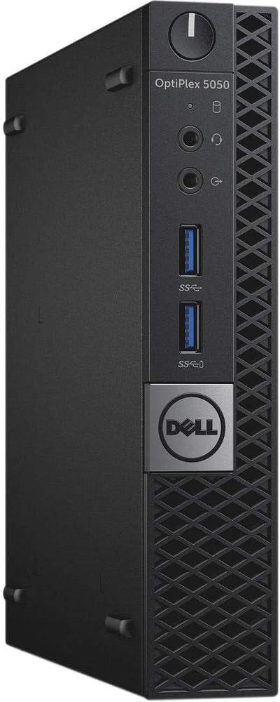 Dell OptiPlex 5050 Micro Desktop PC, Intel Quad Core i5-7600T up to 3.7GHz, 16G DDR4, 512G SSD, Windows 10 Pro 64 Bit-Multi-Language Supports English/Spanish/French(Renewed)