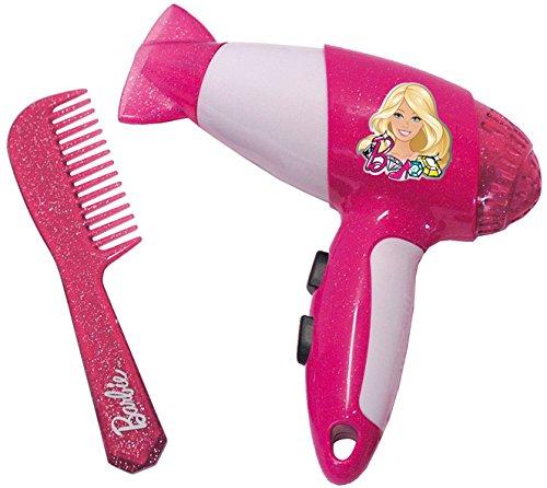 Theo Klein 5324 - Barbie Secador De Pelo Con Peine, Empacado En Blíster