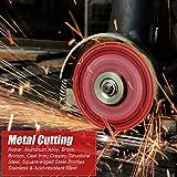 EZARC Diamond Cutting Wheel 4-1/2 x 7/8 Inch for