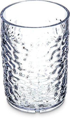 Carlisle 550507 Pebble Optic SAN Tumbler, 5 oz, Clear