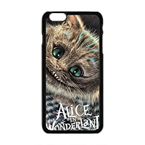 Alice In Wonderland Fashion Comstom Plastic case cover For Iphone 6 Plus