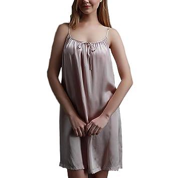 CJC Sexy Lencería Satín Bata Noche Vestir Camisón Ropa de Dormir Ropa Interior Vestir Flexible (Color : 1, Tamaño : One Size): Amazon.es: Hogar