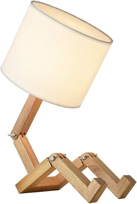 AGLZWY-lamparas de mesa Noche para Dormitorios Moderno Lampara De ...