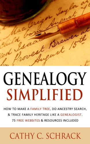 amazon com genealogy simplified how to make a family tree do