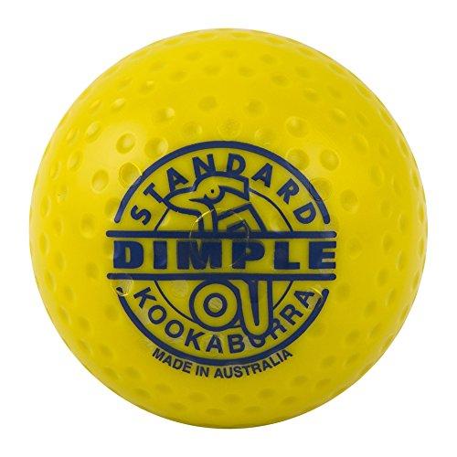 Field Hockey Ball Made (Kookaburra Dimple Standard Field Hockey Ball (yellow, 1 ball))