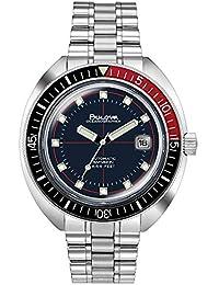 Mens Bulova Special Edition Devil Diver Oceanographer Bracelet Watch 98B320