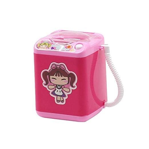 Finelyty - Mini máquina de Lavar, Juguete eléctrico, multifunción ...