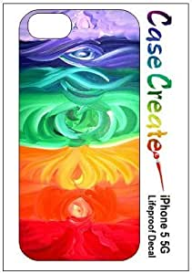 Chakras New Age Meditation Decorative Sticker Decal for your iPhone 5 Lifeproof Case