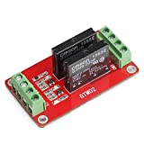 DROK 2 Channel DC 5V Relay Shield Module with LED Indicator for Arduino UNO 2560 1280 ARM PIC AVR STM32