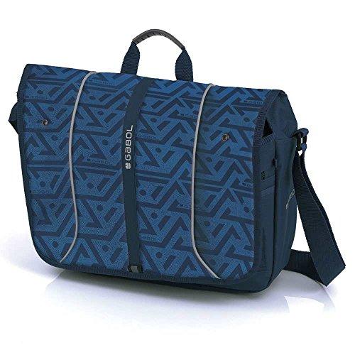 GABOL , Borsa Messenger  Blu Azul