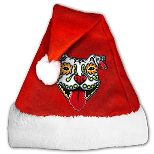 Pitbull Christmas Santa Hat (Pitbull Christmas Costumes)