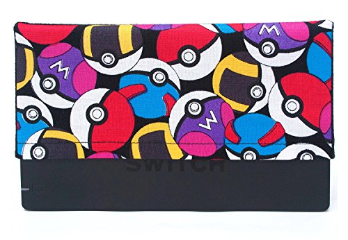 Masters Games Screen (Dock Sock Sleeve Cover with Microfiber Backing for Nintendo Switch)