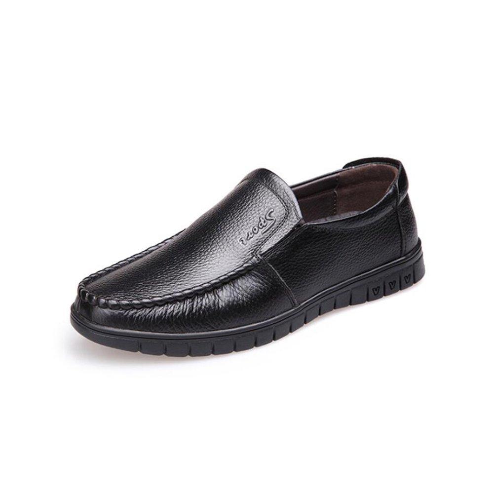 GFP 2018 Herren Atmungsaktive Schuhe, Herren Casual Lederschuhe, Aushöhlen Schuhe, Flache Müßiggänger Fahren Schuhe, Wanderschuhe