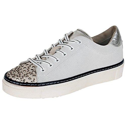 d8db778e5c3713 Maripe Sneaker in weiß silber blau mp24564152050 Weiß Silber Blau ...