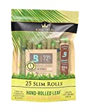 King Palm Slim Size Natural Pre Wrap Palm Leafs (25 Pack)
