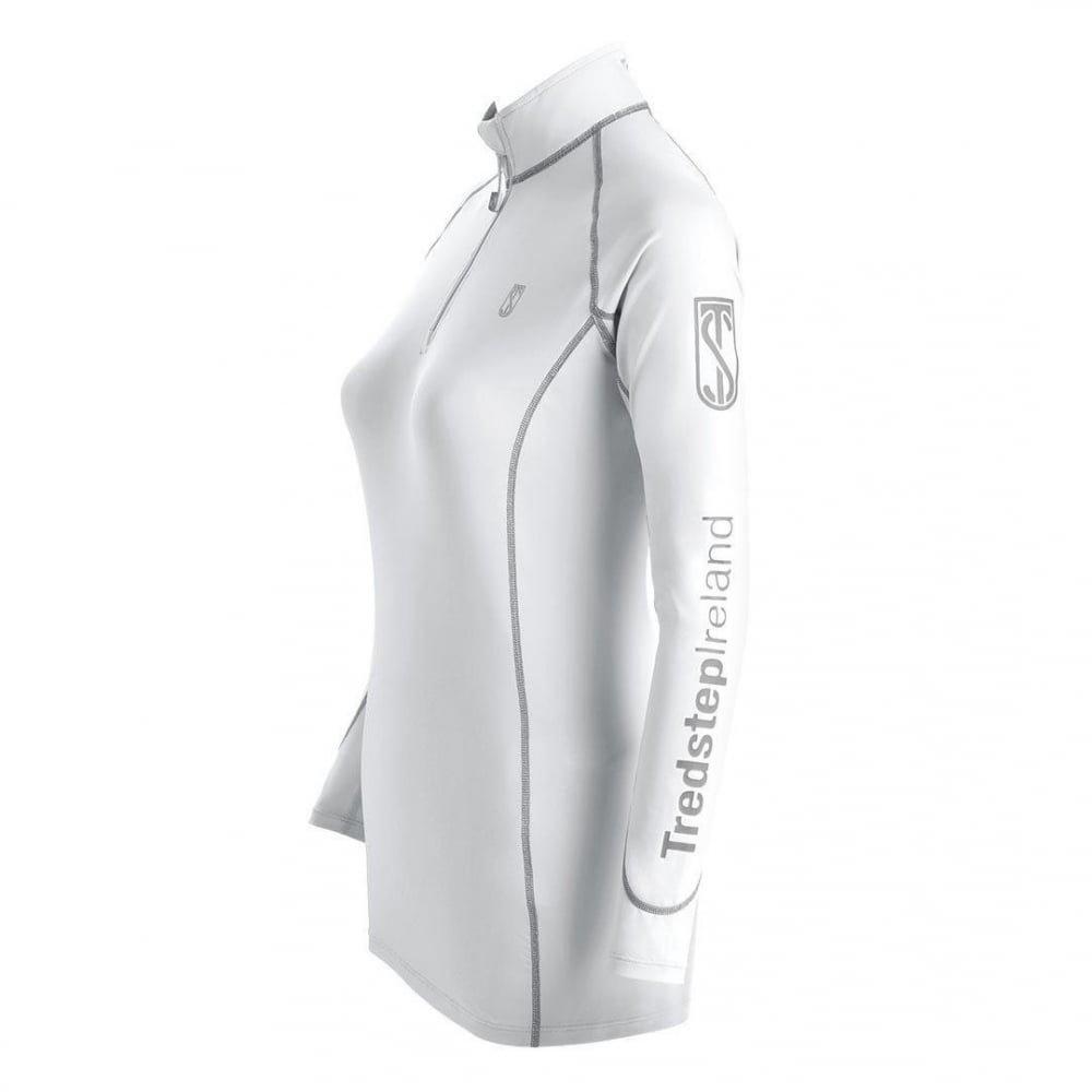 Tredstep Futura Long Sleeve Sport Shirt M White by Tredstep