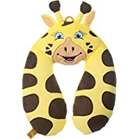 Go-Travel Kids Giraffe Neck Travel Pillow, Yellow, 2700