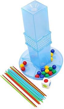 Torre Tradicional Jenga Classic Juegos Habilidad Formación Calidad Plastico Multijugador Juego Torre Bloques Juguete Habilidad Educativo Juego Equilibrio Torre Apilamiento Bloques Niños Family: Amazon.es: Deportes y aire libre