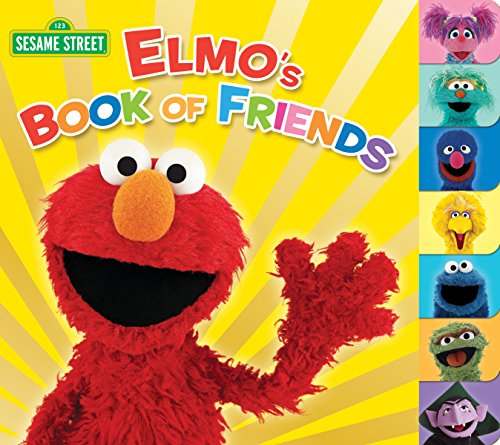 Elmo's Book of Friends (Sesame Street) (Sesame Street (Random House))
