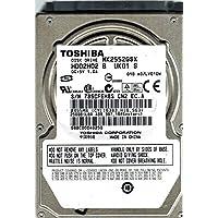 Toshiba MK2552GSX 250GB HDD2H02 B UK01 S A0/LV010M