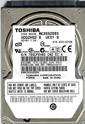 TOSHIBA MK2552GSX WINDOWS 7 X64 TREIBER