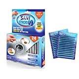 Sani Sticks Keep Your Drain Pipes Clear Odor-Free And Prevent Clogs, 24 Pack