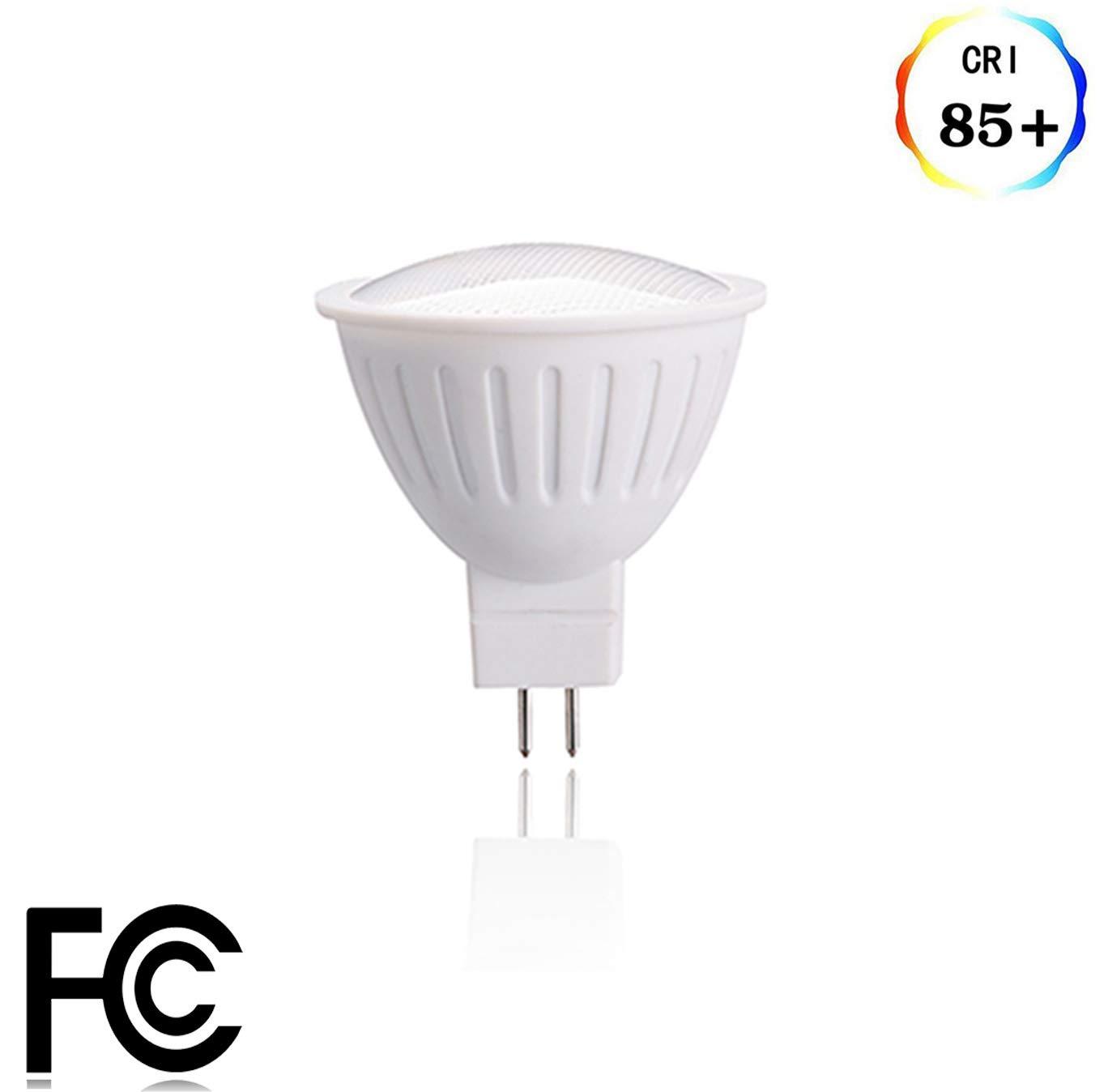 (パックof 1 ) gu5.3 LEDスポットライト電球5ワット( 50 W相当蛍光灯電球) mr16 Medium Baseトラックライト12ボルト500lumen 120degree非調光機能付きで使用レストラン 1 Pack イエロー AGU5.3-ND5W2700K-Y1 B0713SFKVQ 2700k Warm White 1
