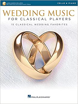 Amazon com: Wedding Music for Classical Players - Cello and Piano