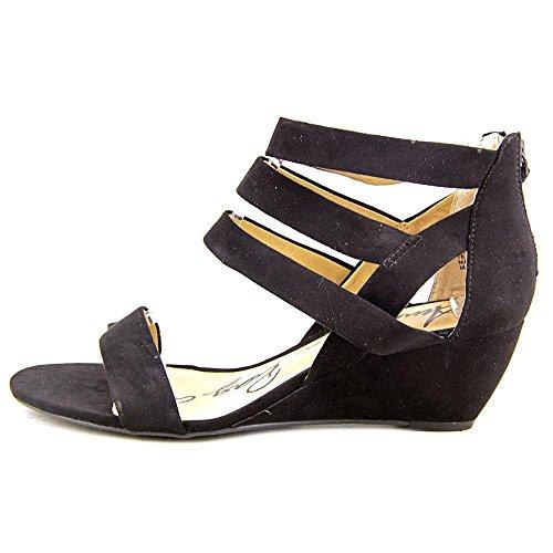 Fabric American Black Platform Rag Sandals Casen Open Toe Womens Casual qtWUtrw4z