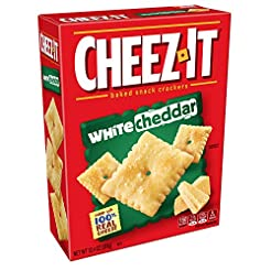 Cheez-It White Cheddar Cheese Crackers -...