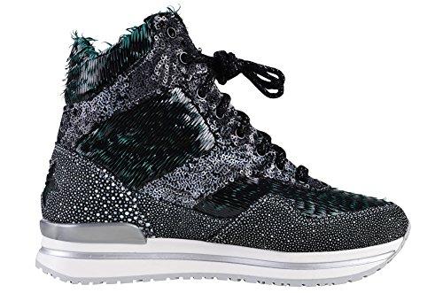 Gold 2Star Shoes Women's Black Leather Sneaker 35 VKXMEx