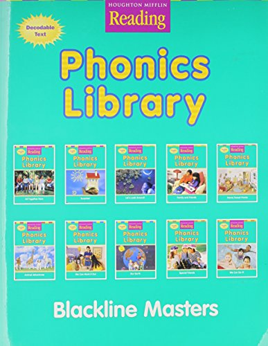 Houghton Mifflin Reading  Phonics Library Blackline Masters  Grade 1  Houghton Mifflin Reading  The Nations Choice