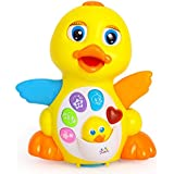 Early Education 18 Months + Olds Baby Toy Musical Dancing Duck toy Lights Action Flashing Lights Musical Toys for Children & Kids Boys and Girls
