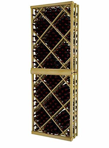 (Vintner Series Wine Rack - Open Diamond Bin - 8 Ft - Pine with Unstained)