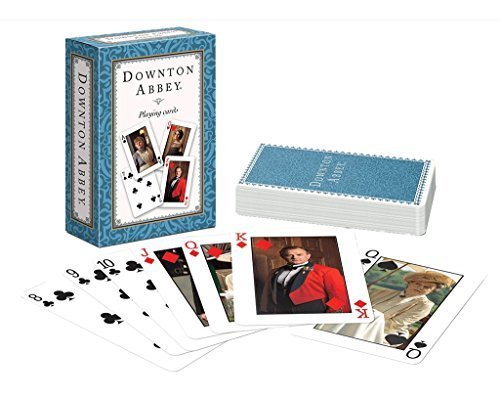 Downton Abbey Playing Cards Single Deck blu by Downton Abbey