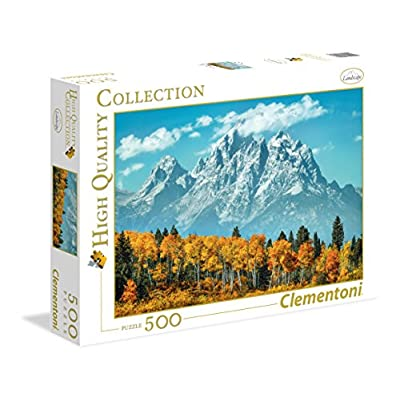 Clementoni 35034 High Quality Collection Puzzle Grand Tenton In Fall 500 Pezzi