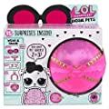 LOL Surprise Biggie Pet Bundle Includes (1) Dollmation + (1) Limited Edition Glitter Glam + Bonus Action Media Storage Bag!
