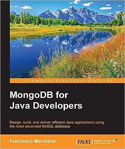 Amazon com: MongoDB for Java Developers eBook: Francesco Marchioni