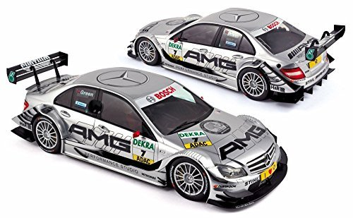 - 2011 Mercedes-Benz C-Class DTM Race Car #7 Jamie Green - Norev 183583 - 1/18 Scale Diecast Model Toy Car